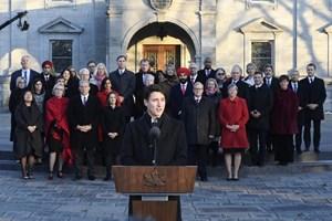 Thủ tướng Canada Justin Trudeau công bố nội các mới