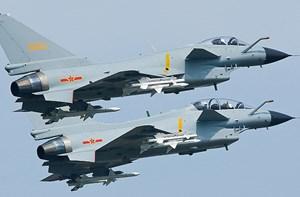 Trung Quốc tập trận không quân quy mô lớn