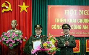 Trung tá Nguyễn Thanh Tuấn làm Phó Giám đốc Công an tỉnh Thừa Thiên - Huế