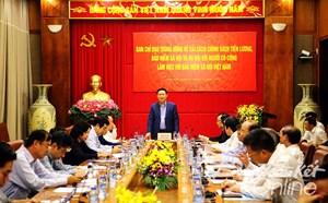 Trung ương khảo sát tiền lương tại Hà Nội và BHXHVN