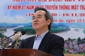 Trưởng Ban Kinh tế TƯ dự Ngày hội Đại đoàn kết toàn dân tộc tại Phú Thọ