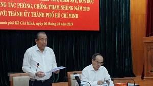 PTT Trương Hòa Bình: Xử lý 'tham nhũng vặt' chưa chuyển biến mạnh