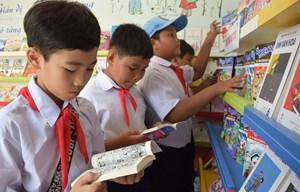 Thư viện container phục vụ gần 500 em học sinh tiểu học ở Đồng Tháp