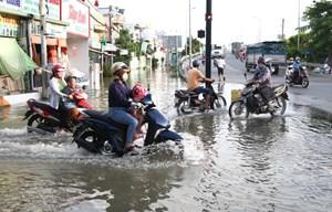 TP Hồ Chí Minh: Chuẩn bị ứng phó đợt triều cường dự báo cao 1,66 m