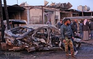 Syria: Đánh bom xe tại miền Bắc