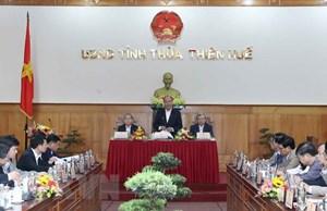 Thủ tướng: Thừa Thiên - Huế cần phát triển toàn diện hơn trong thời gian tới