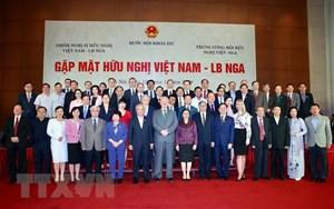 Gặp mặt hữu nghị Việt-Nga, hướng tới kỷ niệm 70 năm quan hệ Việt-Xô