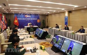 Chùm ảnh: Hội nghị trực tuyến Cấp cao đặc biệt ASEAN ứng phó Covid-19