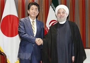 Nhật Bản thông báo với Mỹ về chuyến thăm của Tổng thống Iran