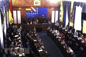 Thượng viện Bolivia thông qua dự luật mở đường cho cuộc bầu cử mới