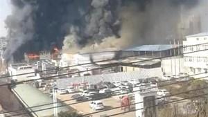 Trung Quốc: Cháy nhà máy khiến nhiều người thiệt mạng