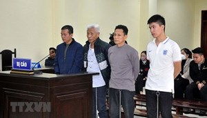 Án tù cho nhóm đối tượng chống người thi hành công vụ ở Thanh Hóa