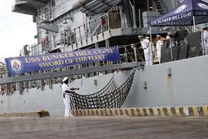 Đoàn tàu Hải quân Hoa Kỳ cập cảng thành phố Đà Nẵng