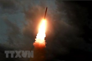 Hàn Quốc: Triều Tiên bắn 3 vật thể chưa xác định ra Biển Nhật Bản