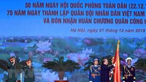 Bộ Quốc phòng kỷ niệm 75 năm Ngày thành lập Quân đội nhân dân Việt Nam