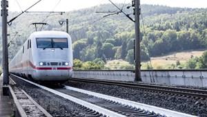 Đức thử nghiệm hệ thống đường ray sơn trắng chống nóng