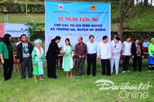 Tưng bừng Ngày hội Đại đoàn kết các dân tộc tỉnh Cao Bằng