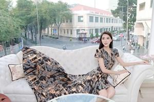 Tường Linh tham dự Hoa hậu Liên lục địa