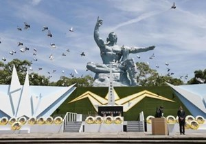 Tưởng niệm 74 năm Mỹ ném bom nguyên tử xuống Nagasaki