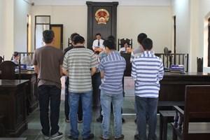 Tuyên phạt 7 bị cáo về tội 'Đánh bạc' và 'Tổ chức đánh bạc'