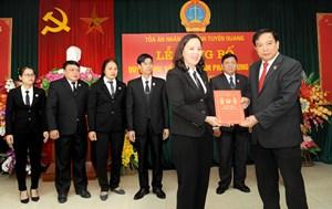 Tuyên Quang có thêm 7 Thẩm phán trung cấp