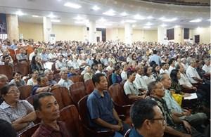 Khánh Hòa: Tập huấn công tác tuyên truyền, vận động quần chúng cho lực lượng cốt cán thôn, tổ dân phố