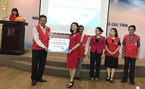 TW Hội Chữ thập đỏ Việt Nam tiếp nhận 5,45 tỷ đồng khắc phục hậu quả bão