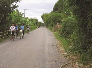 Nhiều công trình phát triển kinh tế - xã hội vùng đồng bào Khmer