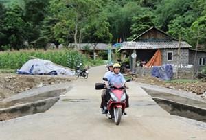 Lương Sơn (Hòa Bình): Khảo sát, đánh giá kết quả xây dựng nông thôn mới