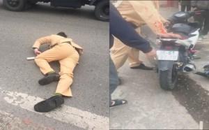 Hà Nội: Nam thanh niên vượt đèn đỏ gây tai nạn