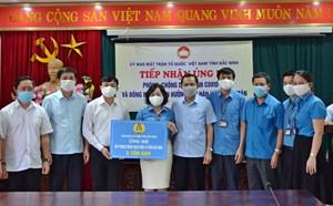 Bắc Ninh: Tiếp nhận gần 21 tỷ đồng ủng hộ Covid-19