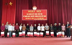 Văn Bàn (Lào Cai) tổ chức điểm Ngày hội Đại đoàn kết toàn dân tộc