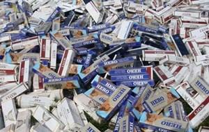 Vận chuyển thuốc lá nhập lậu, bị phạt 2,5 tỉ đồng