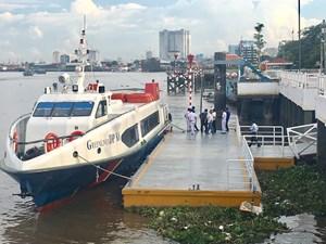 Vận hành kỹ thuật tàu cao tốc TP Hồ Chí Minh - Cần Giờ - Vũng Tàu