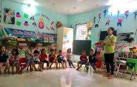 Trường mầm non phải tiếp nhận hết số trẻ 5 tuổi trên địa bàn