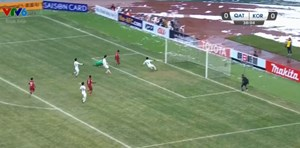 [VIDEO] Bàn thắng mở tỉ số của Qatar trước Hàn Quốc trong trận tranh gải Ba