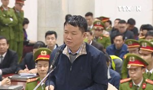 [Video] Bị cáo Đinh La Thăng nói lời sau cùng tại tòa