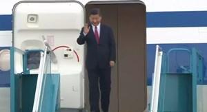 [Video] Chủ tịch Trung Quốc Tập Cận Bình đến Đà Nẵng dự APEC 2017