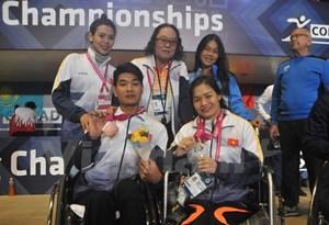 Việt Nam giành thêm 2 huy chương tại Giải vô địch bơi người khuyết tật