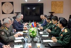 Việt - Nga ký Kế hoạch hợp tác quốc phòng