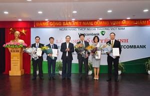 Vietcombank bổ nhiệm 3 tân Phó Tổng Giám đốc