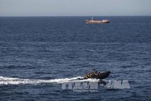Hải quân Hàn Quốc bảo vệ tàu thuyền qua vịnh Aden