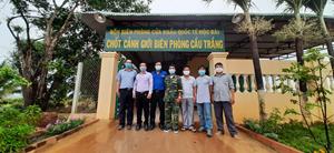 VKEIA hỗ trợ Bộ đội Biên phòng và Công an tỉnh Tây Ninh phòng, chống dịch