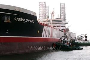 Tàu chở dầu Stena Impero đã tới UAE