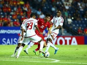 VCK U23 châu Á 2020: Đội tuyển U23 Việt Nam - U23 UAE: 0-0