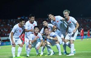 Đội tuyển Việt Nam thắng tưng bừng 3-1 ngay trên sân Indonesia
