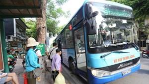 Hành khách có thể quét mã QR khi mua vé tháng xe buýt