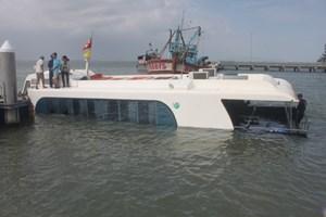 Vụ chìm tàu cao tốc tại Cần Giờ là do tuột hệ trục chân vịt