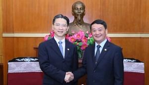 Vun đắp tình hữu nghị Việt Nam - Trung Quốc