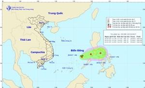 Vùng áp thấp di chuyển chậm, có khả năng mạnh lên thành áp thấp nhiệt đới